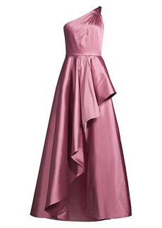 Jay Godfrey Margaret Taffeta Ruffle Gown