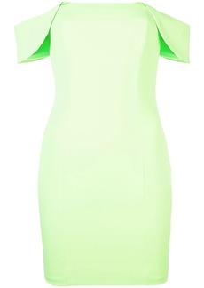 Jay Godfrey off-shoulder mini dress