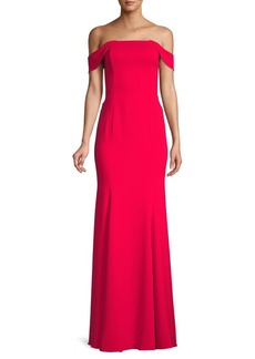 Jay Godfrey Off-The-Shoulder Formal Gown