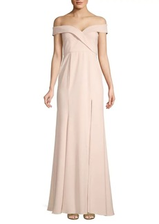 Jay Godfrey Off-the-Shoulder Gown