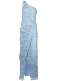 Jay Godfrey one-shoulder sequin gown
