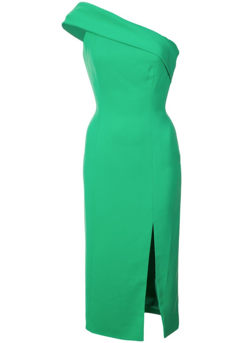 Jay Godfrey one-shoulder slit dress