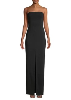 Jay Godfrey Pleated Column Gown