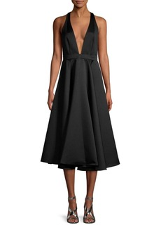 Jay Godfrey Selwyn Midi Shift Dress