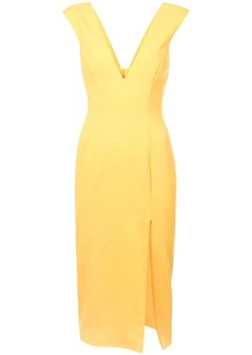 Jay Godfrey side slit V-neck dress