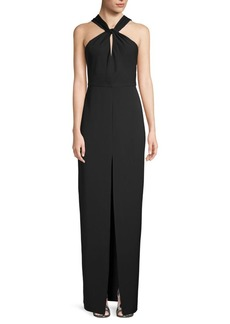 Jay Godfrey Sleeveless Twist Gown