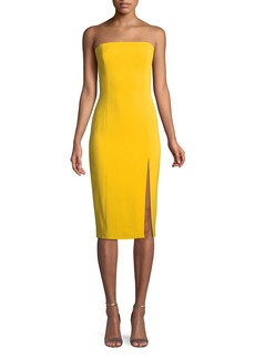 Jay Godfrey Thompson Strapless Sheath Dress