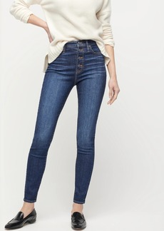 """J.Crew 10"""" highest-rise toothpick jean with button fly"""