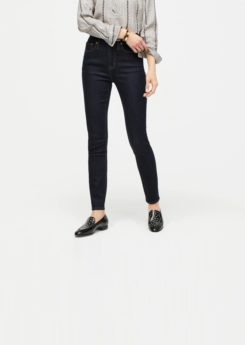 """J.Crew 10"""" highest-rise toothpick jean with TENCEL™ lyocell in dark ink"""