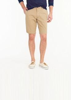"""J.Crew 10.5"""" short in garment-dyed cotton chino"""