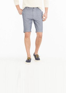 """J.Crew 10.5"""" short in stretch chambray"""