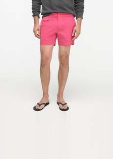 "J.Crew 5"" stretch eco pool short"