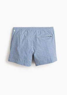 "J.Crew 5"" stretch eco pool short in maze print"