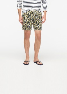 "J.Crew 6"" stretch eco swim trunk in krakow floral print"