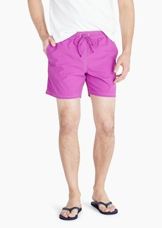"J.Crew 6"" stretch swim trunk"