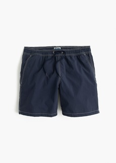 "J.Crew 6"" swim trunk in solid"