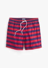 """J.Crew 6"""" swim trunk in stripe"""
