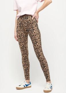 J.Crew 7/8 high-rise leggings in leopard