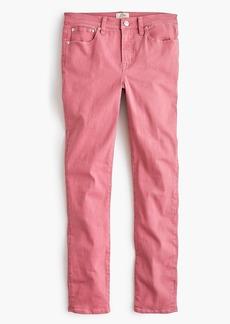 "J.Crew 8"" toothpick garment-dyed jean"