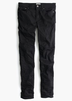 "8"" toothpick jean in black"