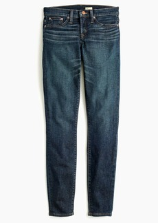 "J.Crew 8"" toothpick jean in deep worn wash"