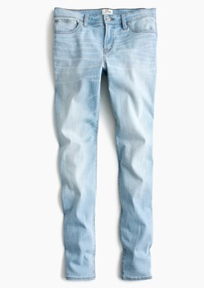 "J.Crew Petite 8"" toothpick jean in light wash"