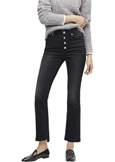 """J.Crew 9"""" Demi-Boot Crop Jeans in Charcoal"""