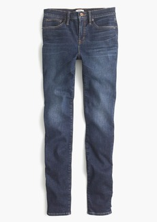 """9"""" high-rise stretchy toothpick jean in Solano wash"""