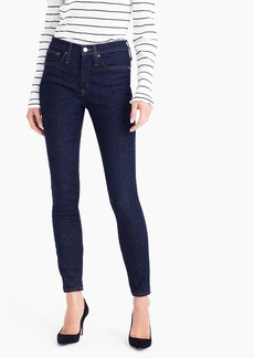 """J.Crew 9"""" high-rise toothpick jean in Classic Rinse wash"""