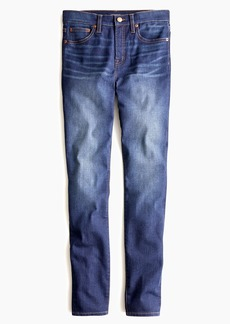 """J.Crew Tall 9"""" high-rise toothpick jean in indigo wash with THERMOLITE®"""