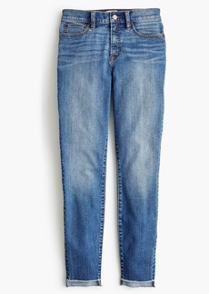 "J.Crew Tall 9"" high-rise toothpick jean in westville wash"