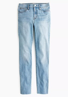"J.Crew 9"" high-rise toothpick jean in wilkerson wash"