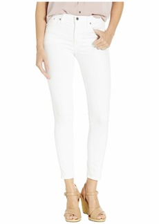 """J.Crew 9"""" High-Rise Toothpick Jeans in White"""