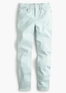 """9"""" lookout high-rise garment-dyed crop jean"""