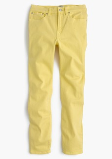 "J.Crew 9"" lookout high-rise garment-dyed crop jean"