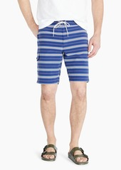 "J.Crew 9"" stretch eco board short in stripe"