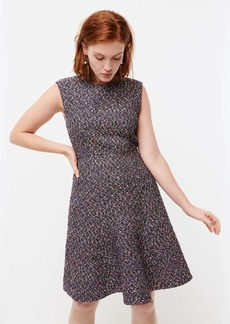 J.Crew A-line dress in confetti tweed