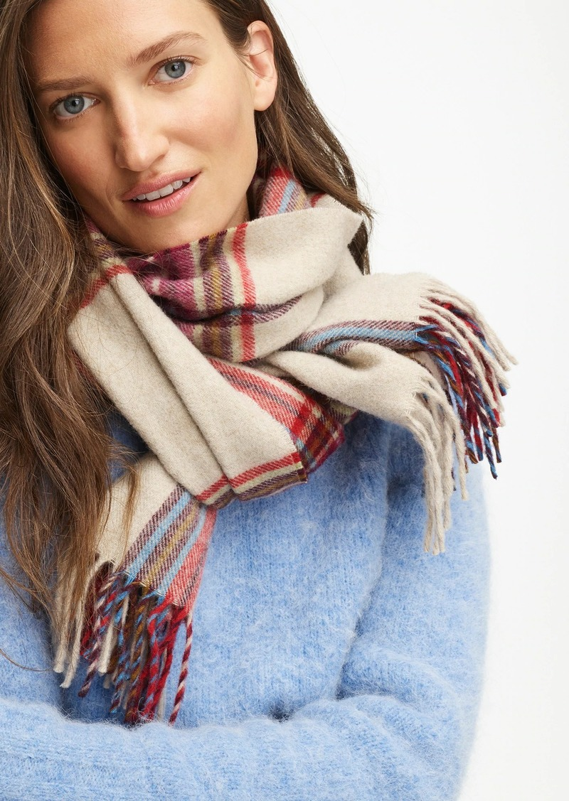 Abraham Moon for J.Crew merino wool scarf