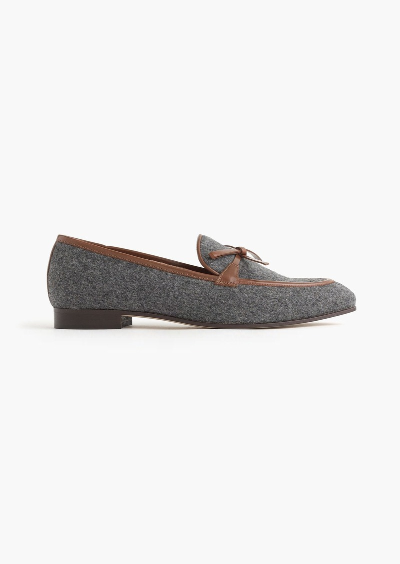 8d4479feab1 SALE! J.Crew Academy loafers in flannel