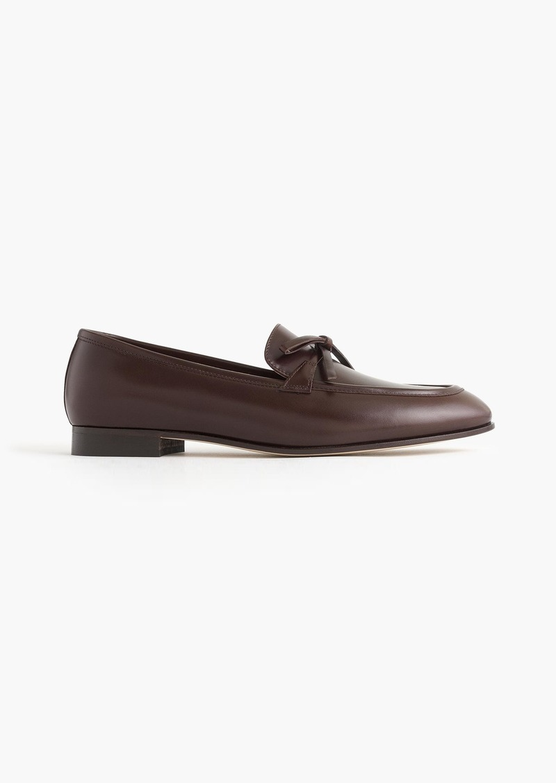 cf9ee7326bc On Sale today! J.Crew Academy loafers in leather