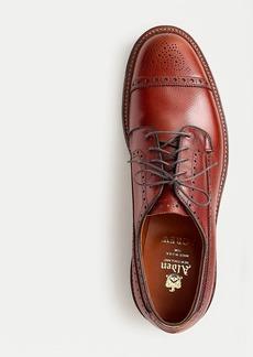 Alden® for J.Crew Atom cap-toe bluchers in dark cognac