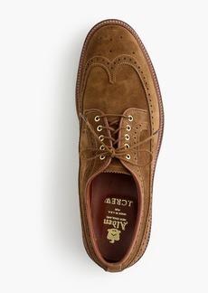 on sale 8dd1c 77728 Alden® for J.Crew longwing bluchers in tan suede