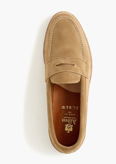 Alden® for J.Crew penny loafers in suede