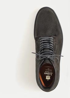 Alden® for J.Crew suede plain-toe boots