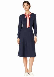 J.Crew Alice Neck Tie Sweater Dress