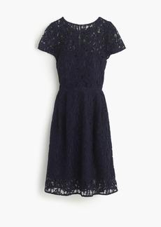 J.Crew Alisa dress in Leavers lace