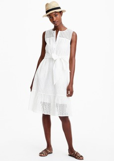 J.Crew All-over eyelet dress