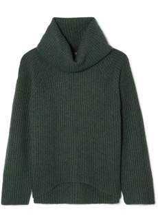 J.Crew Ana Ribbed-knit Turtleneck Sweater
