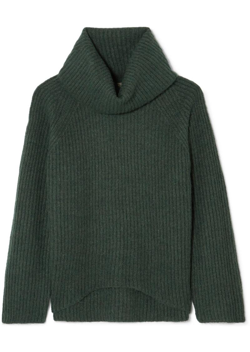 4009d23d32fda0 J.Crew Ana Ribbed-knit Turtleneck Sweater | Sweaters