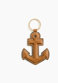 J.Crew Anchor key chain in leather